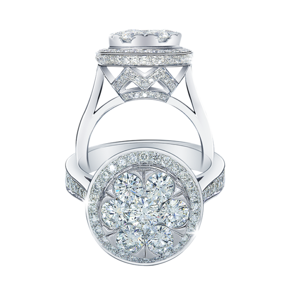 Love's Embrace Diamond Ring