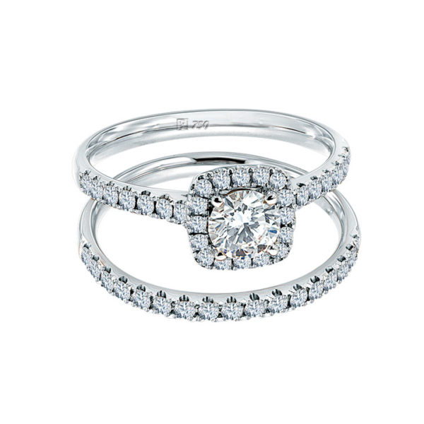 Love's Halo Diamond Ring