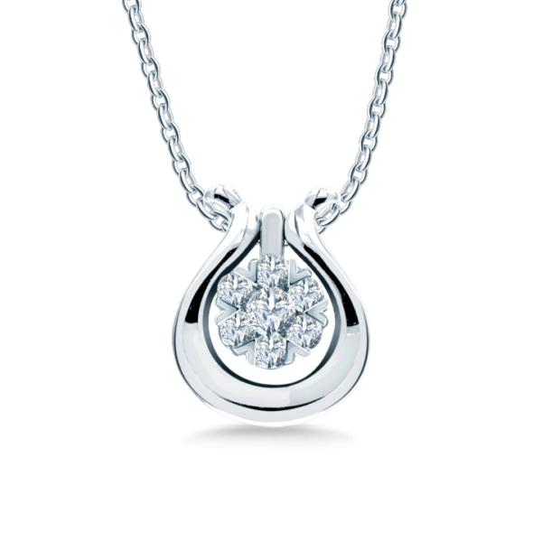 Versatile Diamond Pendant