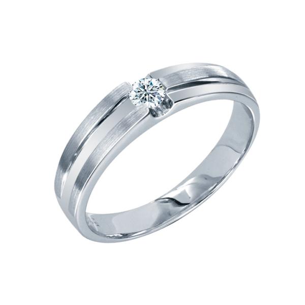 Solitaire Diamond Men's Ring
