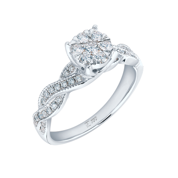 Sweet Romance Diamond Ring