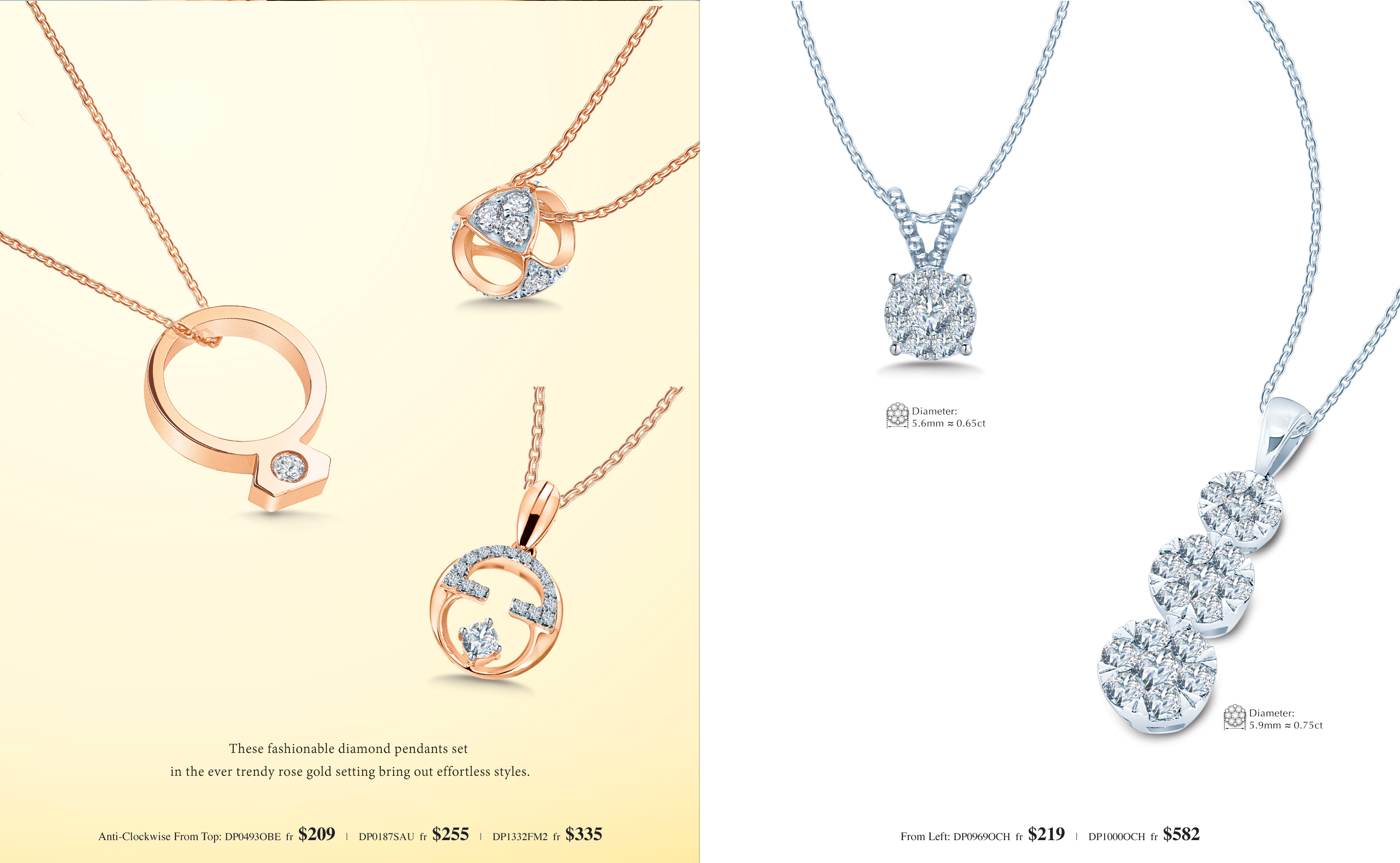 Meyson Jewellery Diamond Pendant