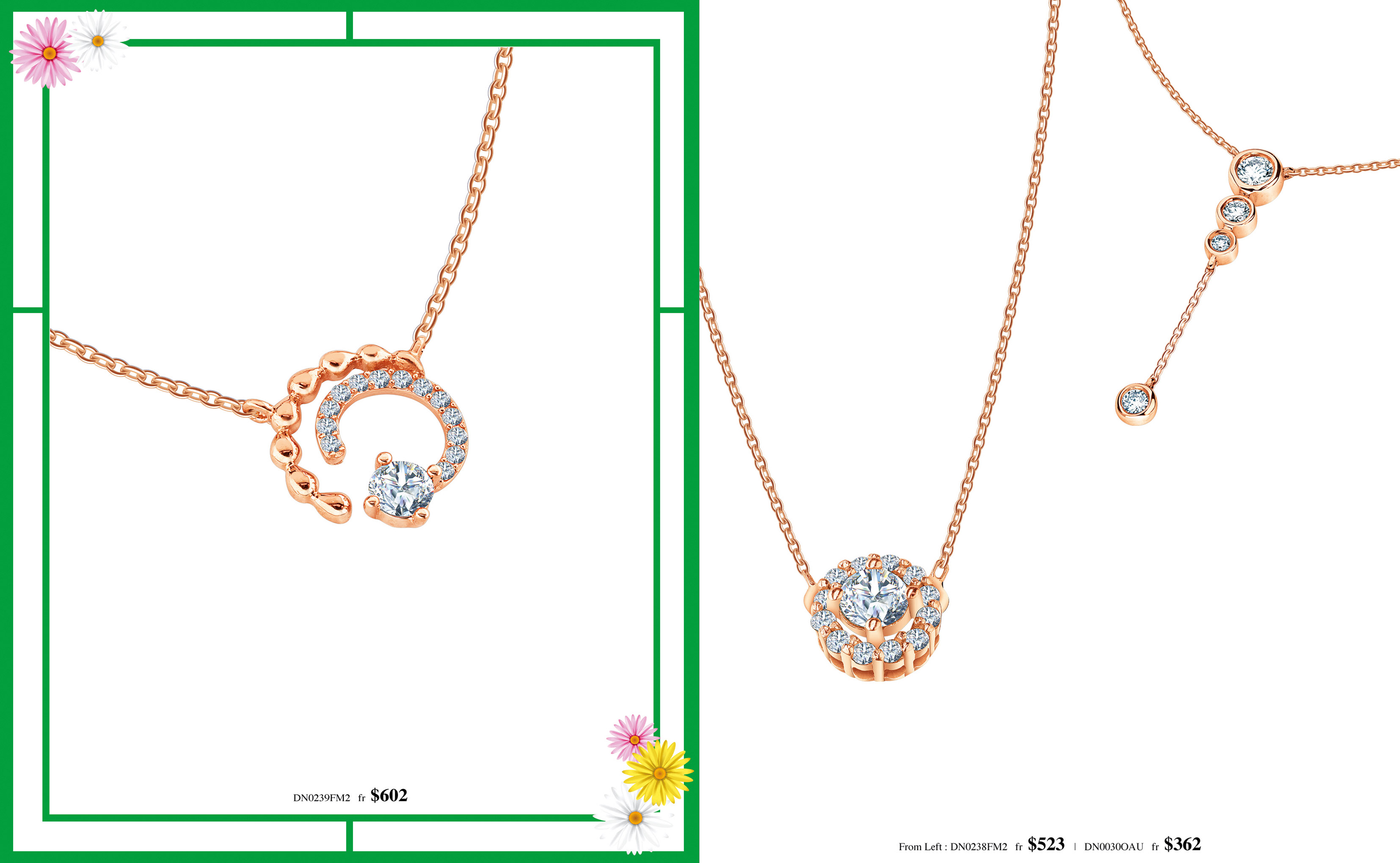 Meyson Jewellery Diamond Necklace