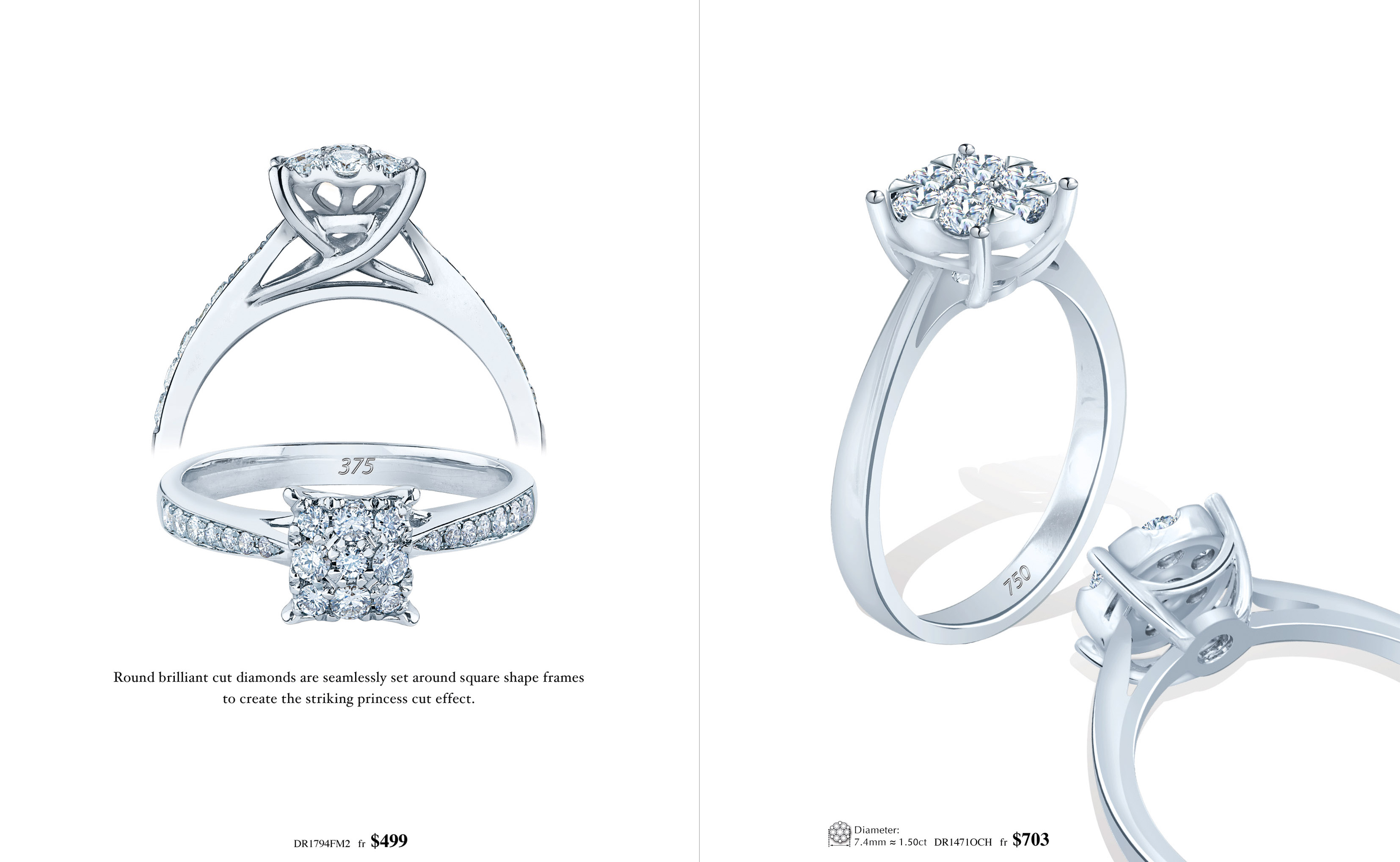 Meyson Jewellery Diamond Ring