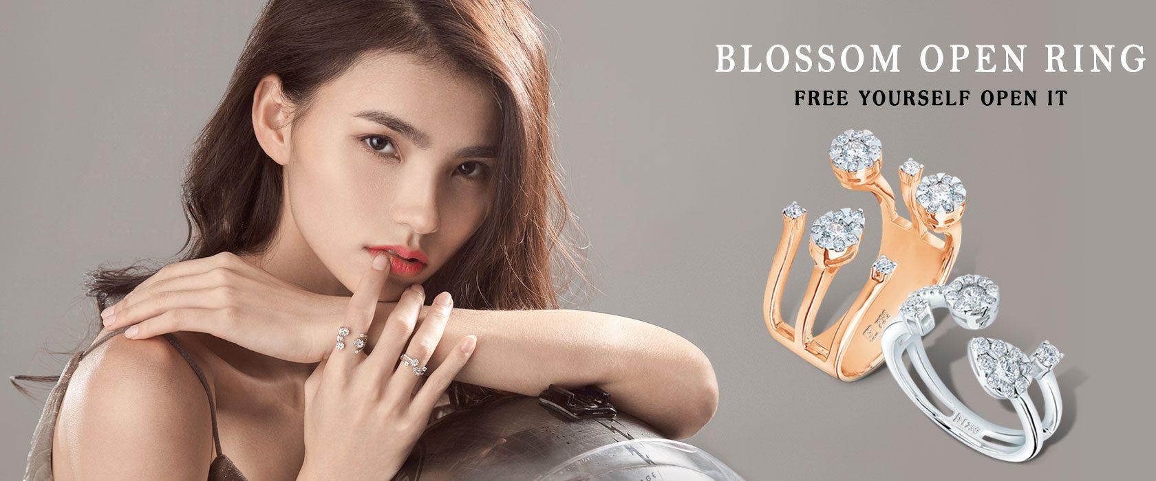 MSJ Blossom Open Ring