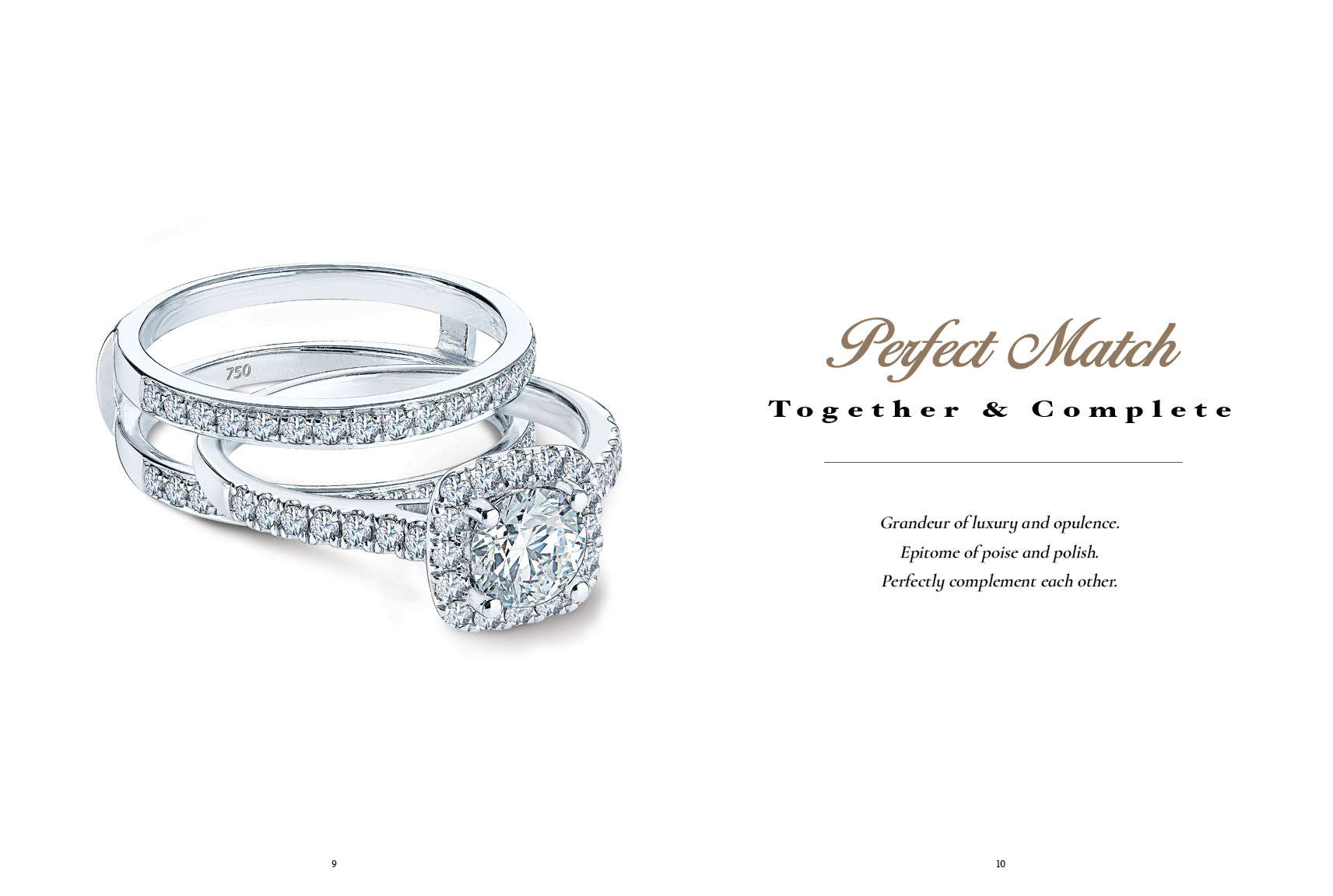 Meyson Jewellery Perfect Match Rings