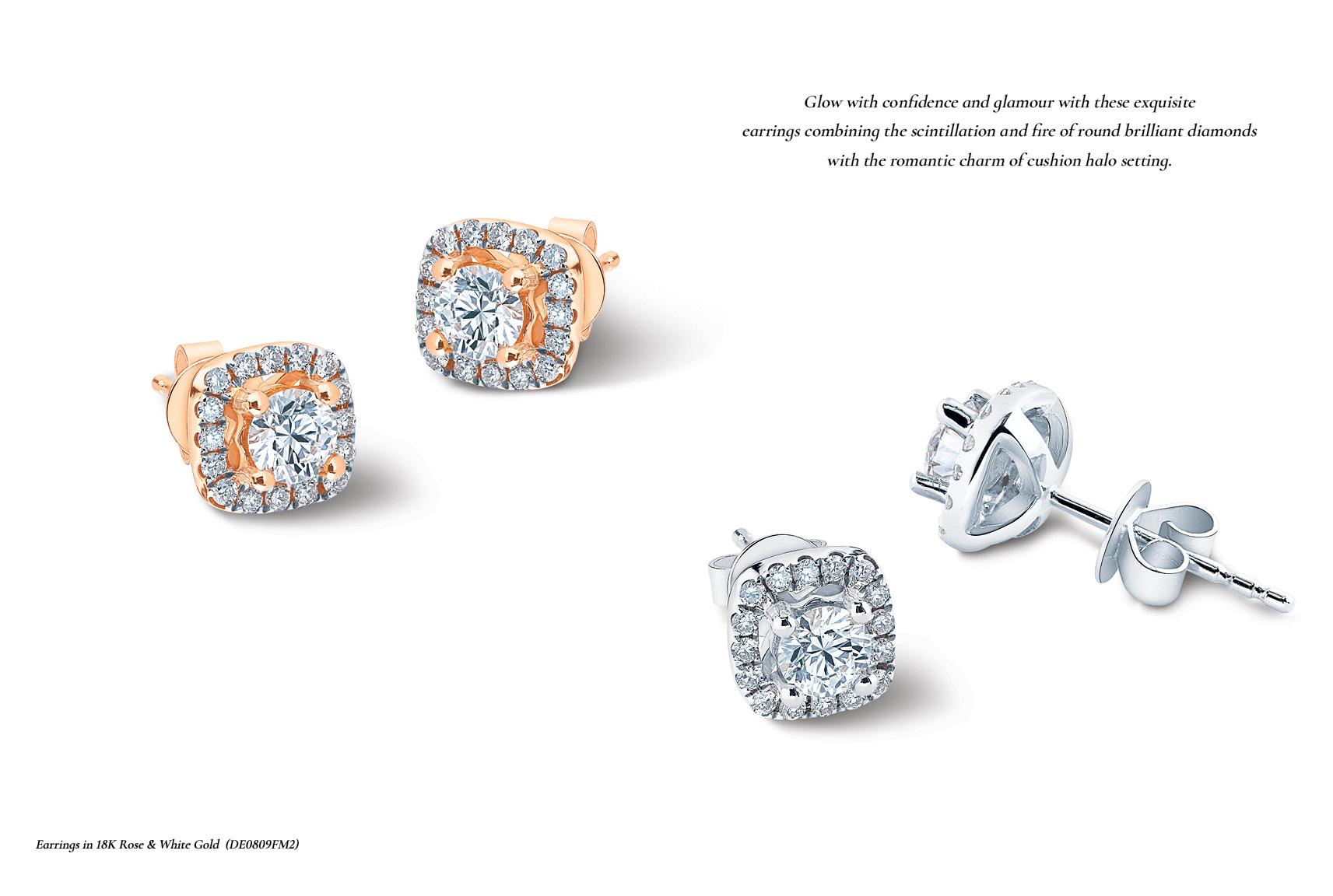 MSJ Diamond Earring