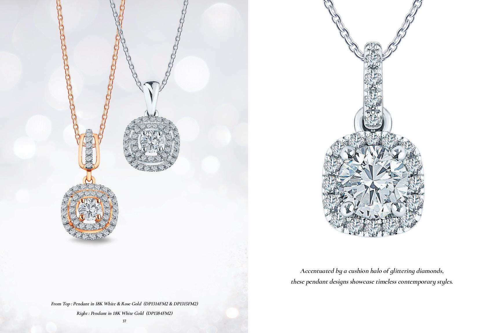 MSJ Diamond Pendant