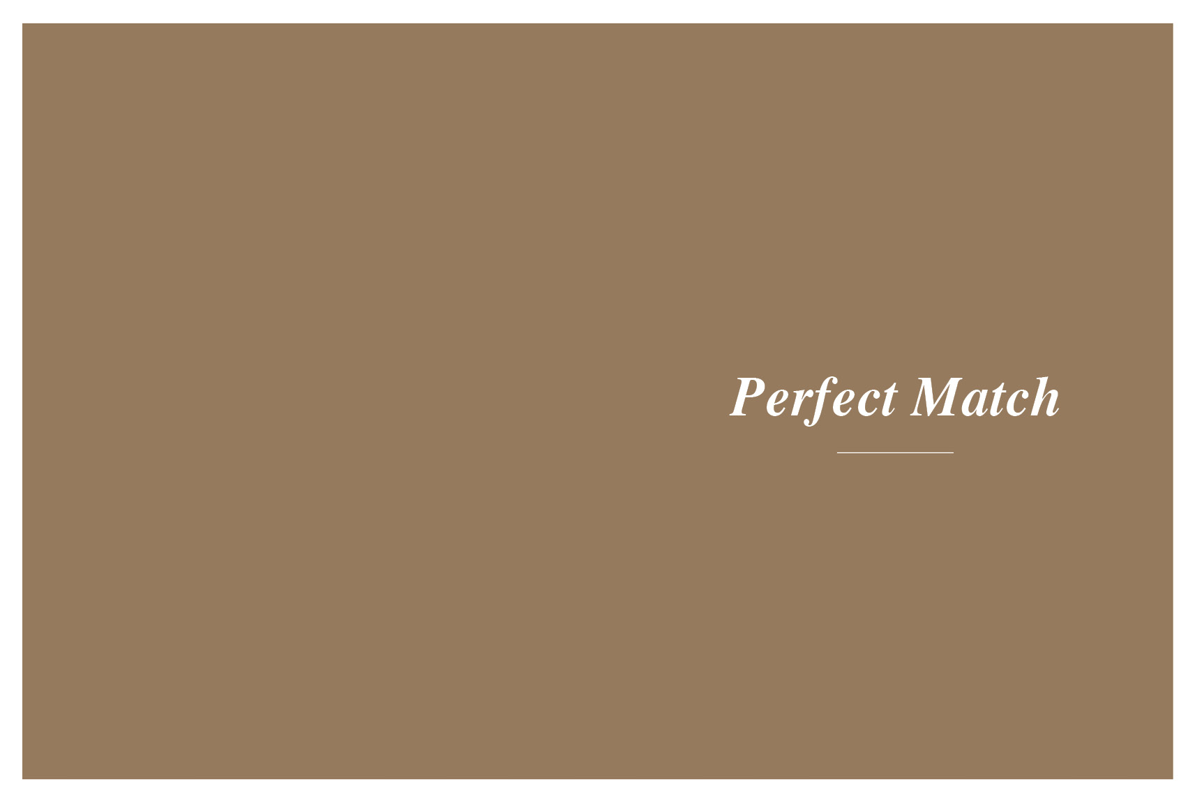 Meyson Jewellery Perfect Match