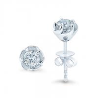 Meyson Jewellery Certified Diamond Earrings